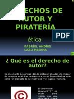 Derechos de Autor y Pirateria