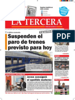 Diario La Tercera 20.08.2015