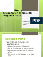Thomas Piketty Capital siglo XXI Segunda Parte