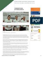 08-19-2015 Se Unen Sociedad y Gobierno Para Proteger La Salud de Tamaulipecos