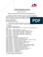 Edital 24 2015 Seleção Pessoal