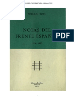 NECULAl TOTU - Notas Del Frente Espanol