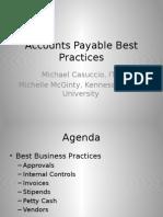AP Best Practices