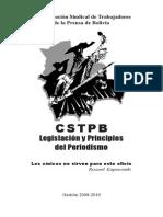 Legislación y Principios Del Periodismo