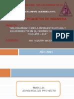 Mejoramiento de La Infraestructura y Equipamiento en El Centro de Salud La Tinguiña Ica (1)