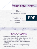 Intra Uterine Fetal Death