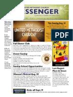 Messenger 8-18-2015