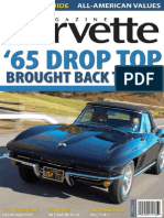 1965 Corvette Corvette Magazine Article