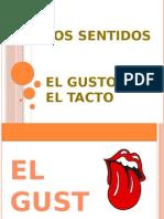 EL GUSTO Y EL TACTO