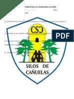 Examen Trimestral de Ciudadania 1er Año