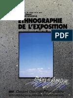 Véron, Eliséo Et Levasseur, Martine. 1989. Ethnographie de l'Exposition l'Espace, Le Corps Et Le Sens