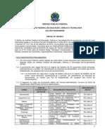 Edital IFRS 2015