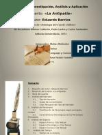 La Antipatia - Eduardo Barrios