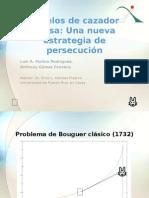 Modelos de cazador-presa - Una nueva estrategia de persecución