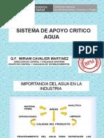 Sistema de Apoyo Critico Agua
