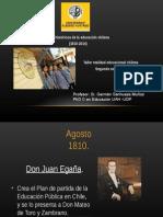 Reseña Historica Educacion en Chile