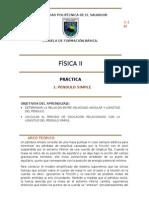 Fis200 Laboratorio1 Pendulo Simple