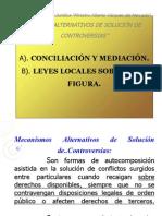 Conciliación y Mediación