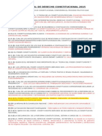 Examen Final de Derecho Constitucional 2015 - Vale