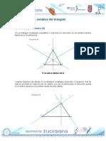 Rectas y Puntos Notables Del Triangulo
