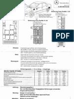 Fuse Designation W203 MB