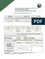 Ficha de Monitoreo 2015