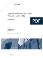 Appraisal Requirements for CMMI® Version 1.3 (ARC, V1.3)