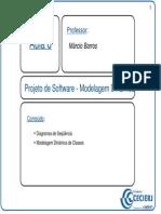 Aula_008 - Projeto de Software - Modelagem Dinâmica