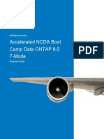 Netapp Accelerated NCDA Boot Camp Data ONTAP 8.0 7-mode Exercise guide