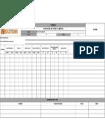 PTSEC-FR-SSOMA-030 Inspección de Orden y Limpieza