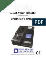 Awarenes Statfax-4500 Userman