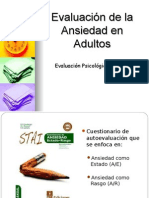 Técnicas de Ansiedad 2015 - II