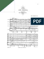Ave María (Brahms) SSAA