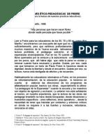 5 Claves Étici- Pedagógicas de Freire Articulo1