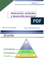 Clase 9 Motivacion y Actitudes