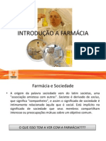 Aula 1 - Introdução a Farmácia