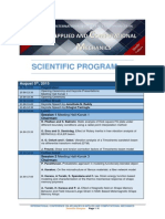 ACM2015 Scientific Program
