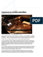 Vademecum ducomédien superstitieux - Libération