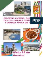 Afiche de Ciudad de Tacna