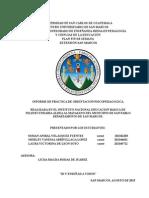 Informe de Talleres 2015