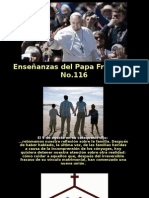 Enseñanzas Del Papa Francisco - Nº 116