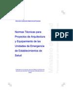 RM064-2001 ________ Normas Tecnicas Para Proyectos de Arquitectura y Equipamento