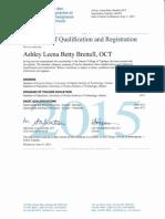 oct qualifications 2015