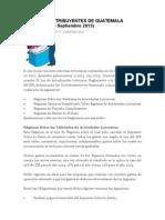 Tipos de Contribuyentes de Guatemala