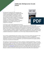 Calefaccion Deshumidificador Refrigeracion Secado Climatización Industrial