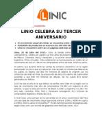 Np - Linio Celebra Su Tercer Aniversario