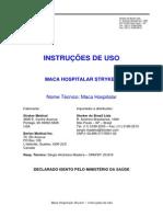 Instruções de uso - Marca hospitalar Strkyker