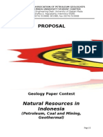 Proposal Aapg- Paper Contest
