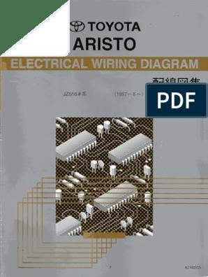 Jzs16x Electrical Wiring Diagram Book 6748505