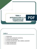 Introducción a Los Procesos de Fabricación (2012-2013)